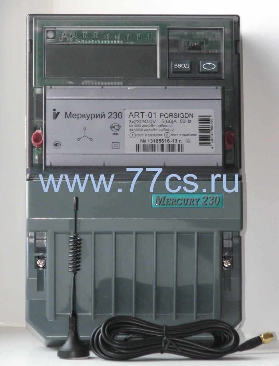 Инструкция 3-х фазный счетчик меркурий 230 ам-01