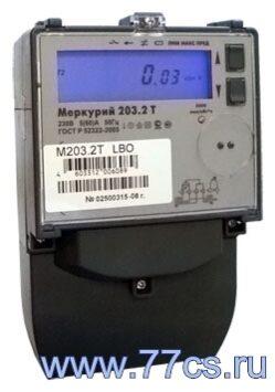 Электросчетчик меркурий 203 2т счетчик