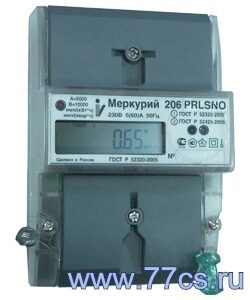 Меркурий 206 счетчик меркурий